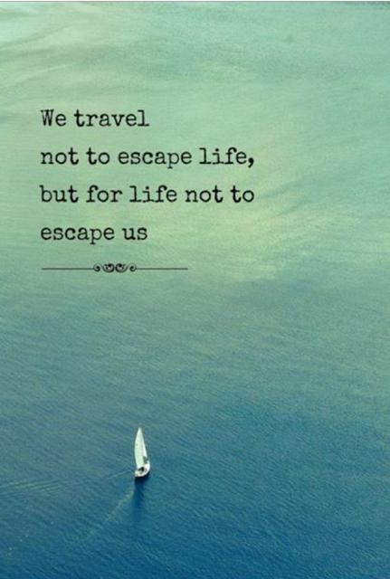 Vi lever bare en gang, reis nå!
