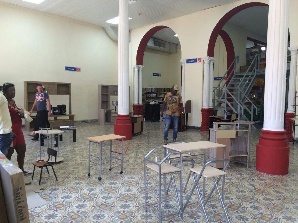 Shopping på Cuba