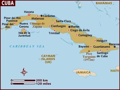 Cuba; fra Vinales i vest til Baracoa i øst