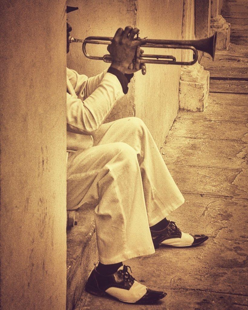 Gatemusikanter er et vanlig skue på Cuba