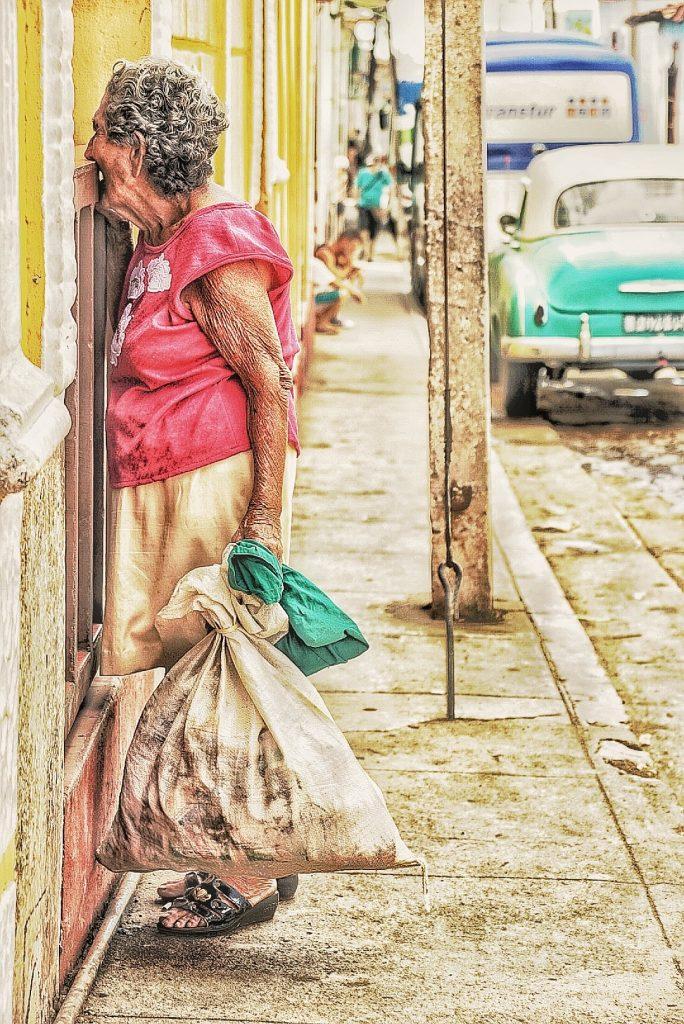Fattigdommen er stor på Cuba