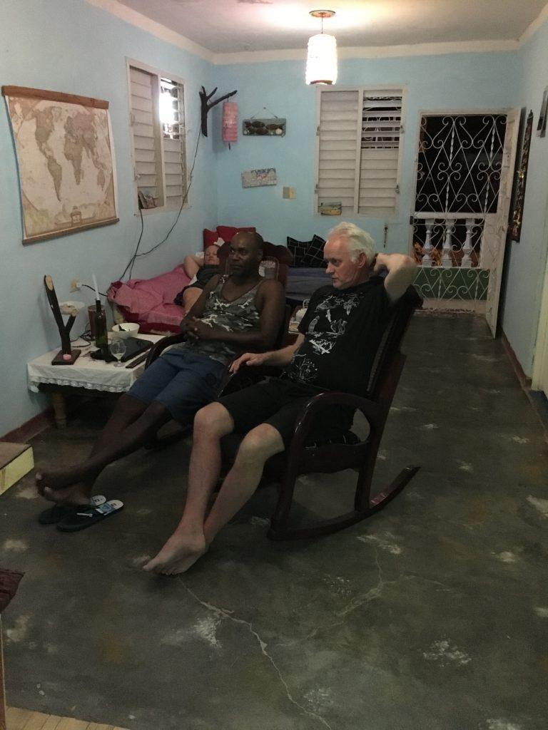 mamma og pappa på Cuba