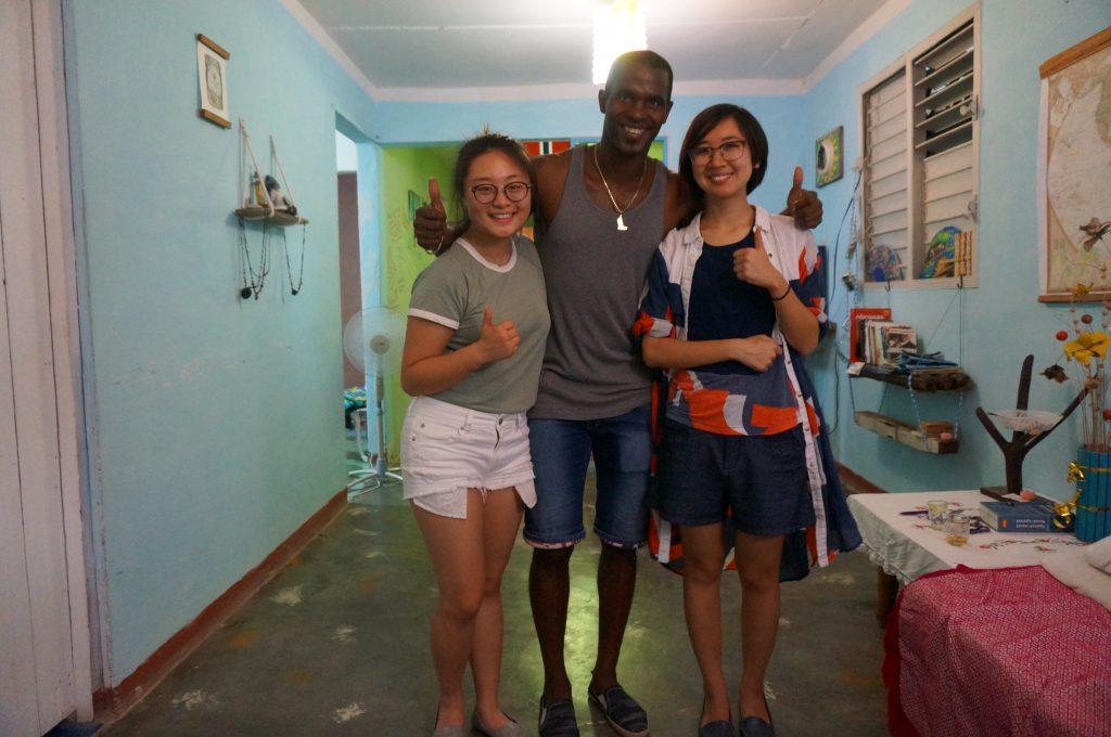 gjestehus på Cuba- Gjester fra hele verden