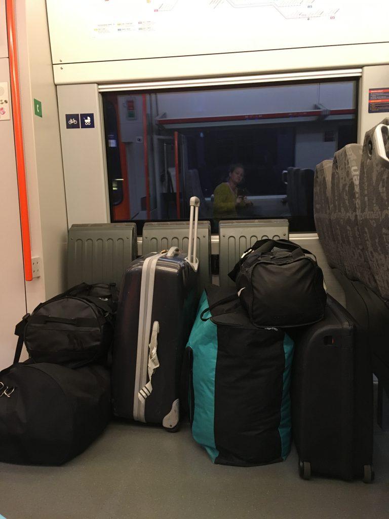 Mye bagasje