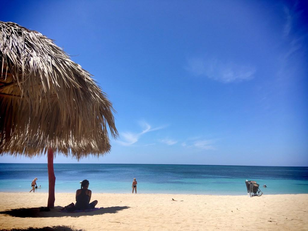 Ancon beach. Må man besøke på cuba tur. Nydelig strand 15 minutter fra Trinidad