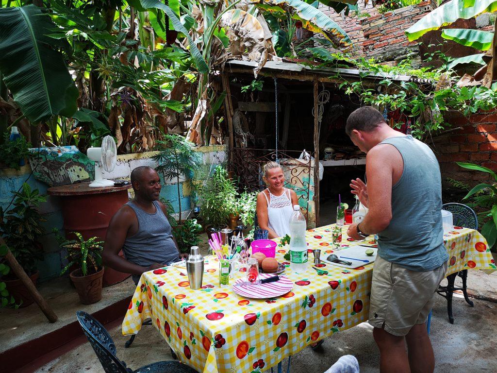 Cocktail kurs på Cuba