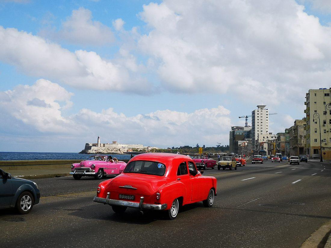 VISA er best på Cuba. Det er det vi anbefaler å ta med for å ta ut penger