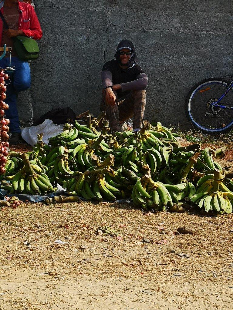 Bananer spises mye på Cuba