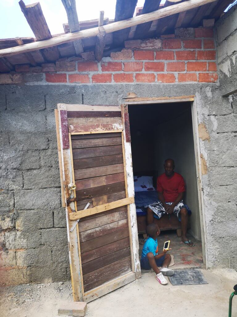 Besøk av barnenbarn er mulig med nytt hus