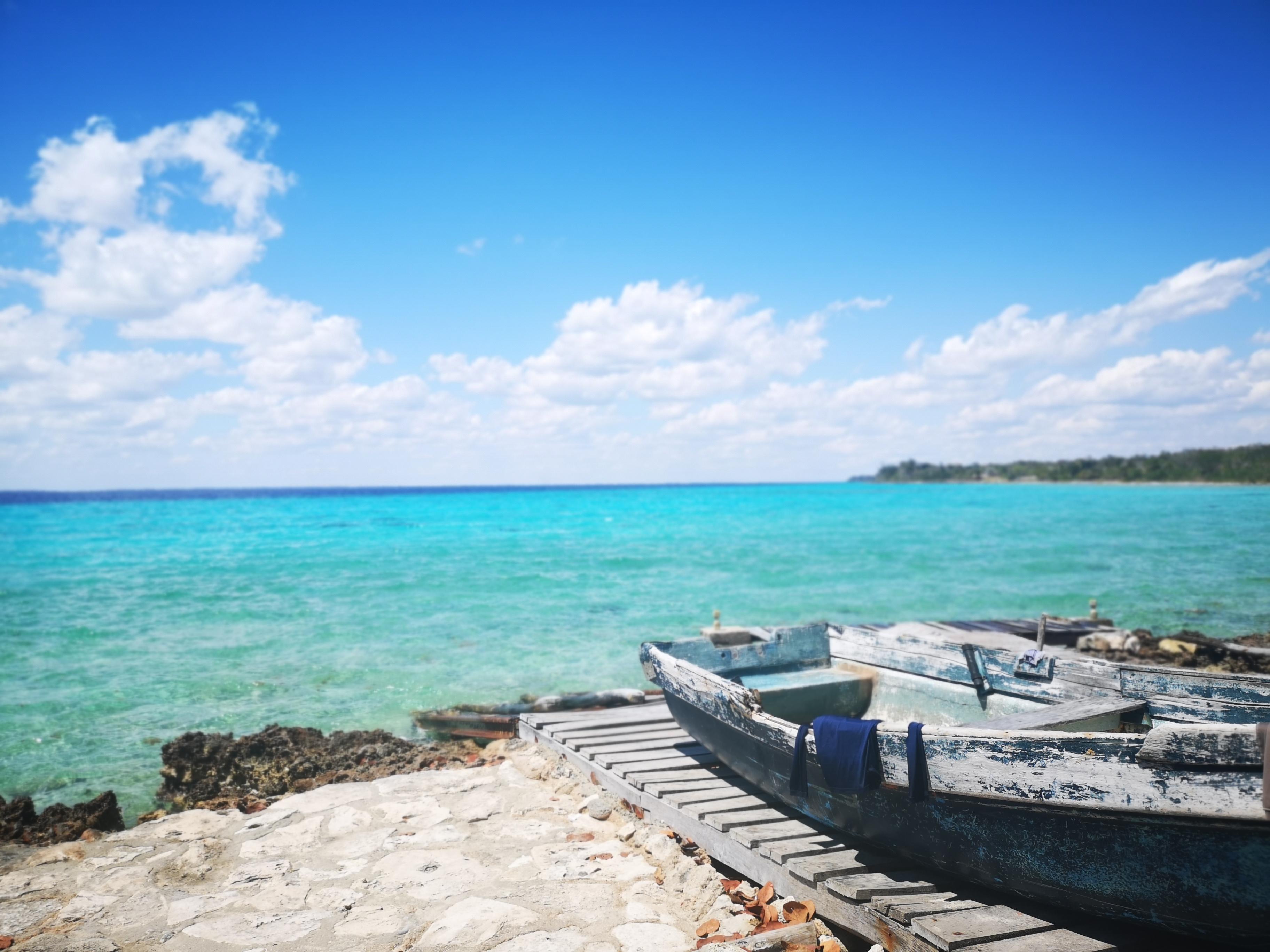 Strand på Cuba Playa Larga