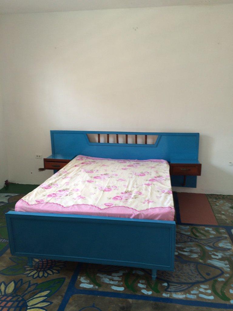 Oppussing av gammel seng