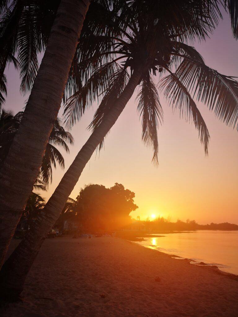 Playa Larga har de vakreste solnedganger.