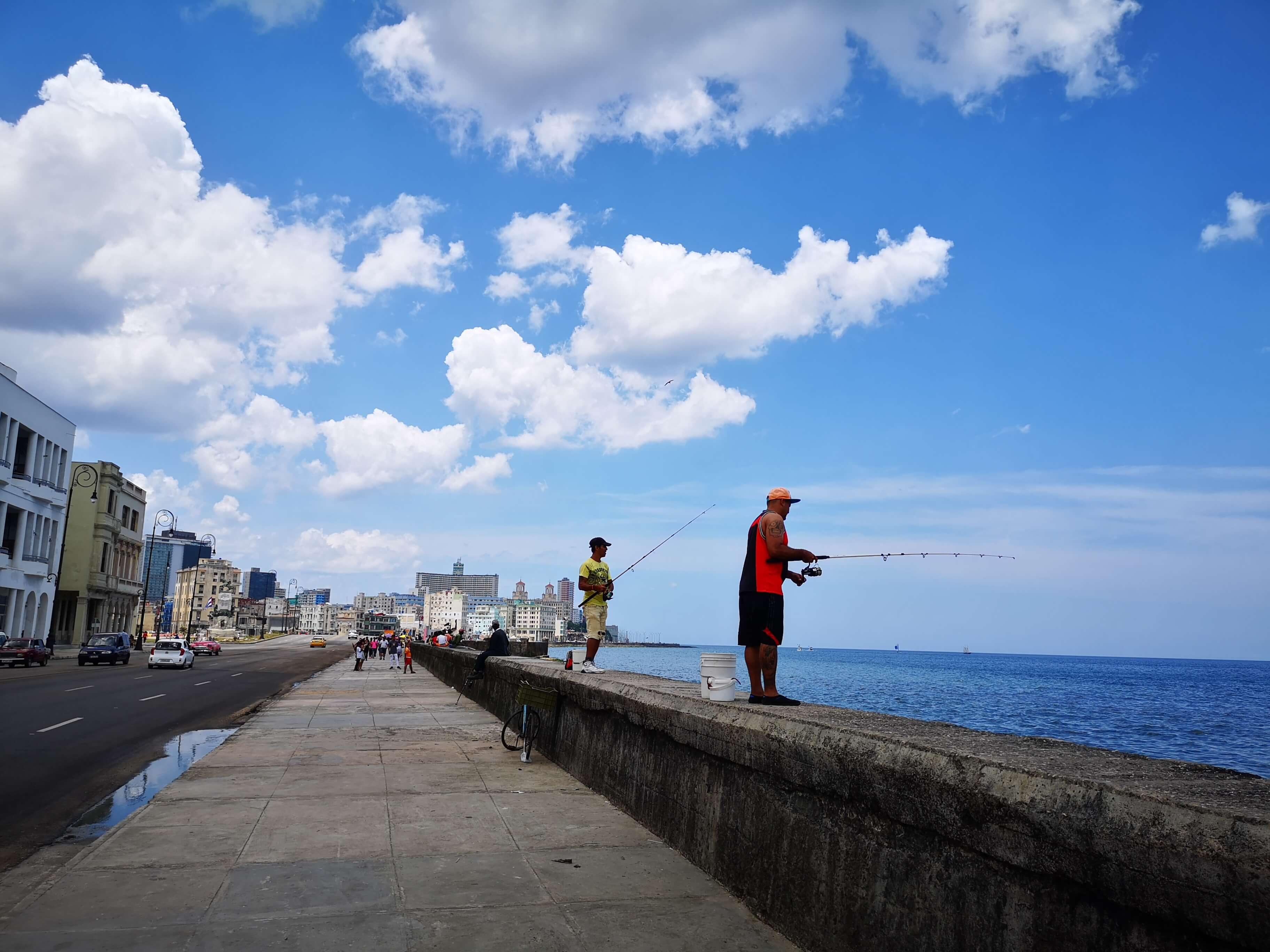 Malecon i Havanna