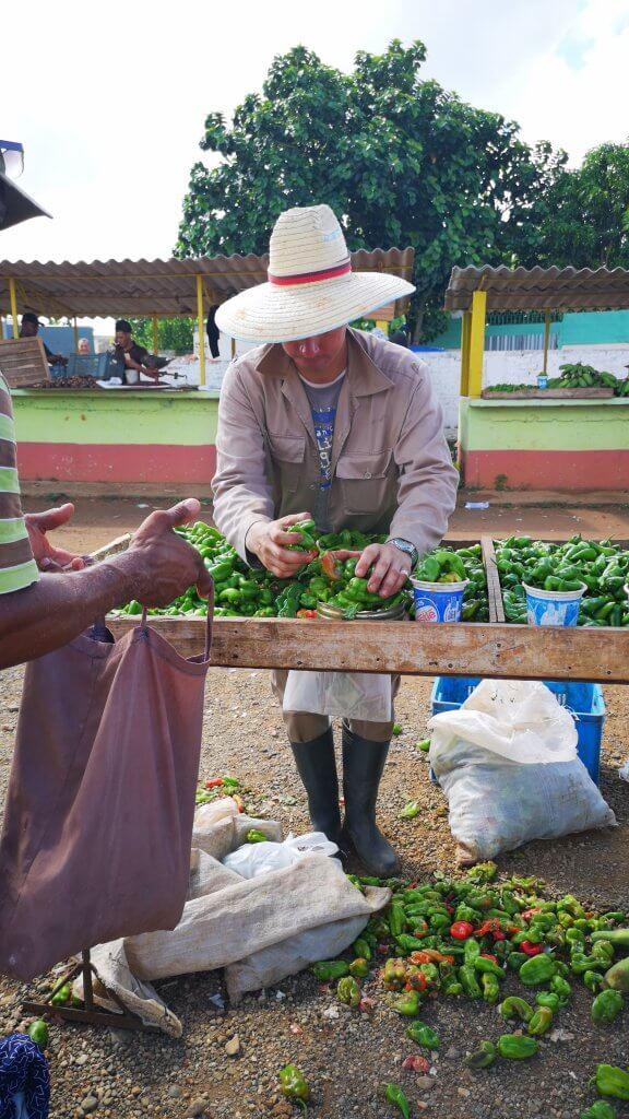 marked på Cuba