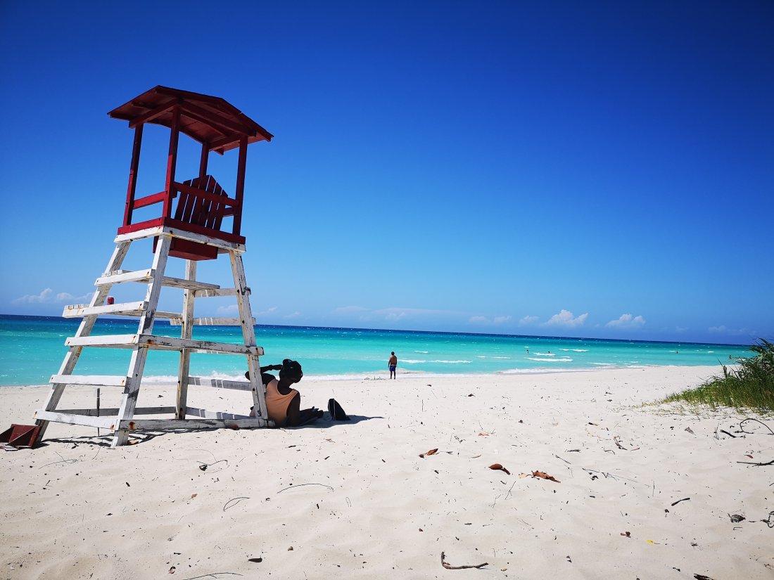 Varadero. En av topp 5 strender på Cuba