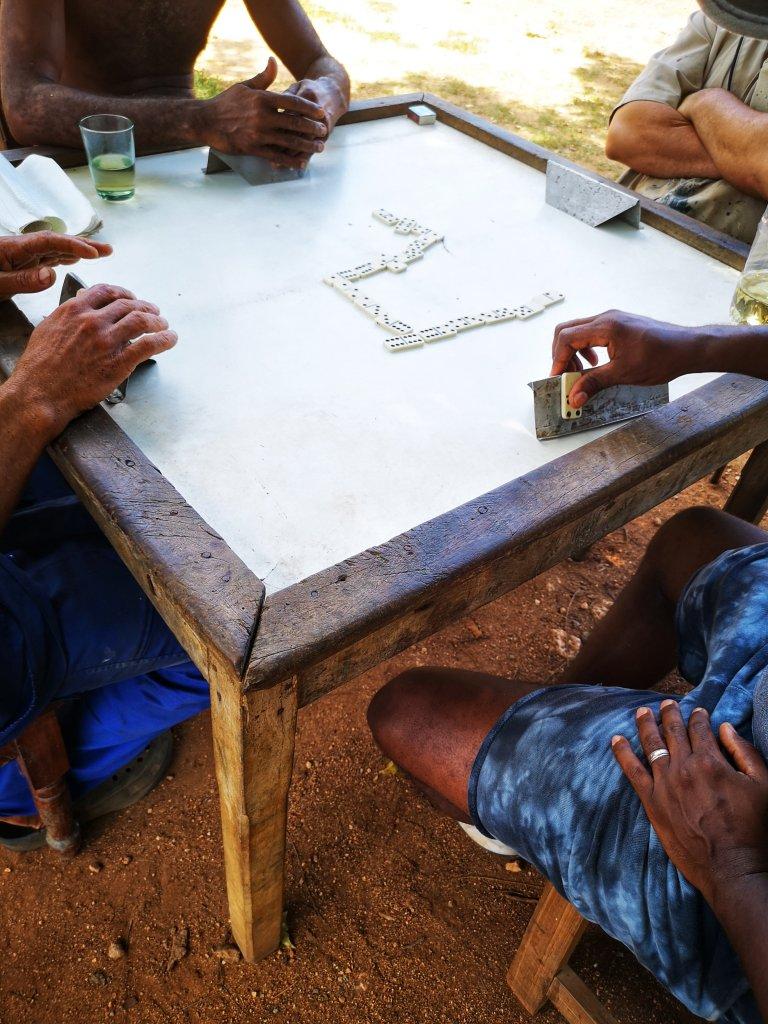 Domino på Cuba er stort
