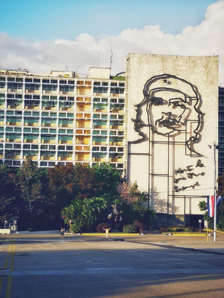Revolusjonsplassen i Havanna