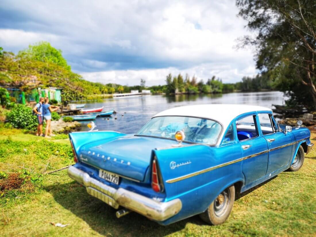 Gammel amerikaner er noe av det typiske med Cuba