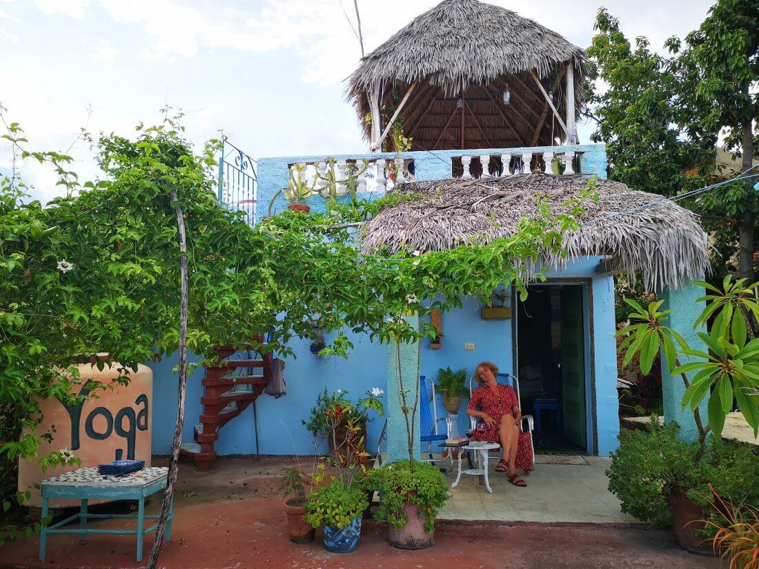 Trinidad er en spennede by på CUba. Her har vi vårt gjestehus