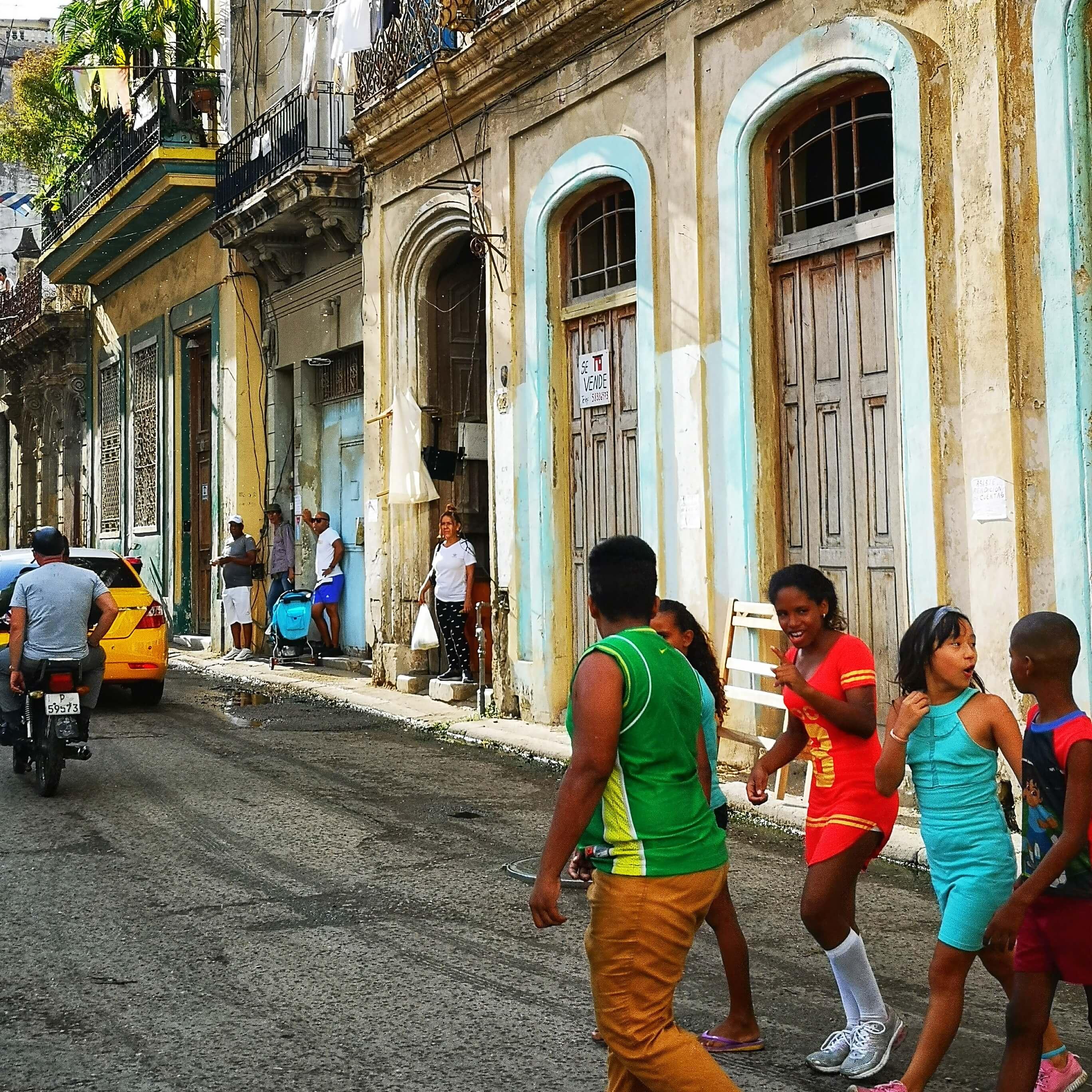 gåtur i Havanna vieja