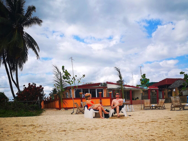 Grisebukta er en fiskelandsby med koselige strender