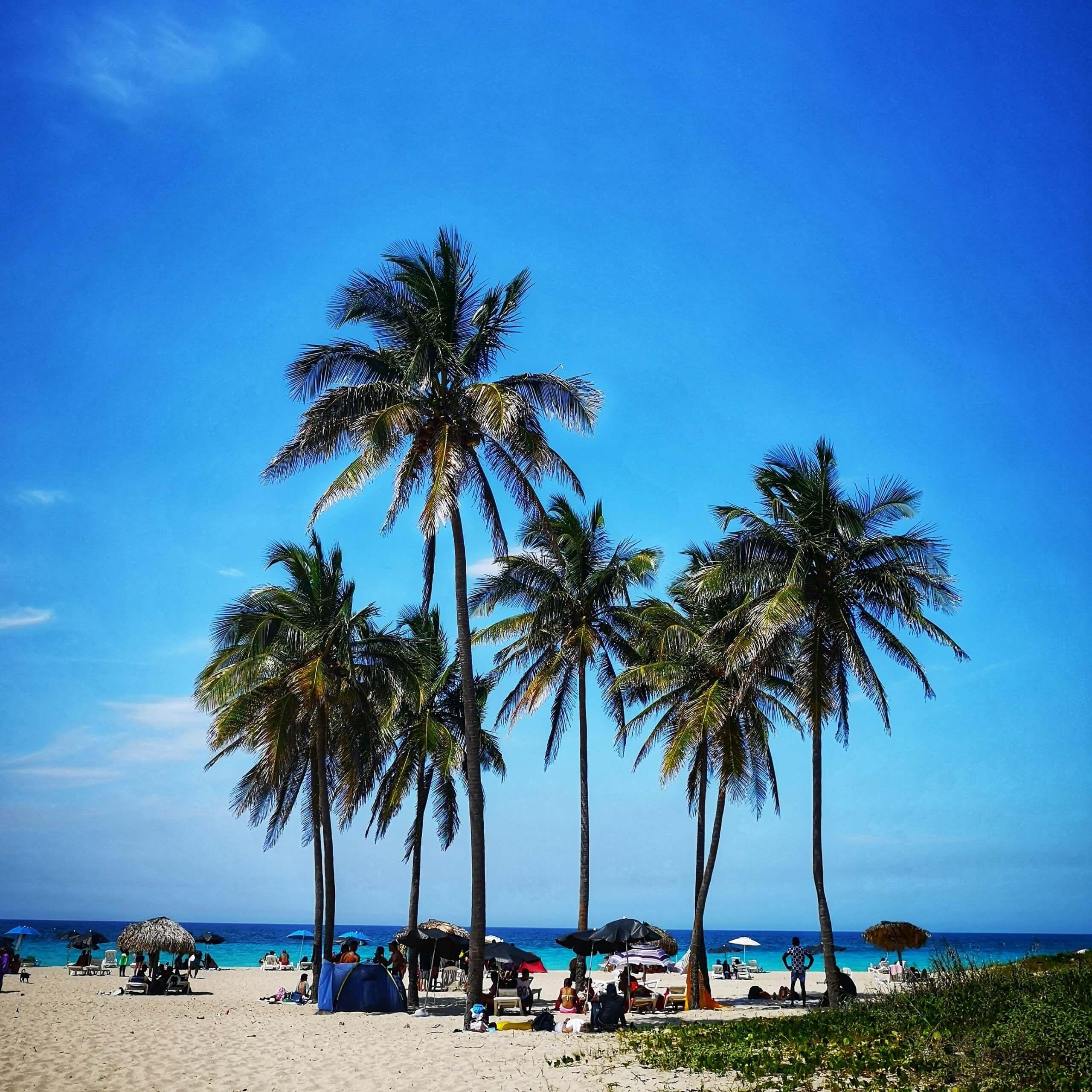 Playa del este i Havanna