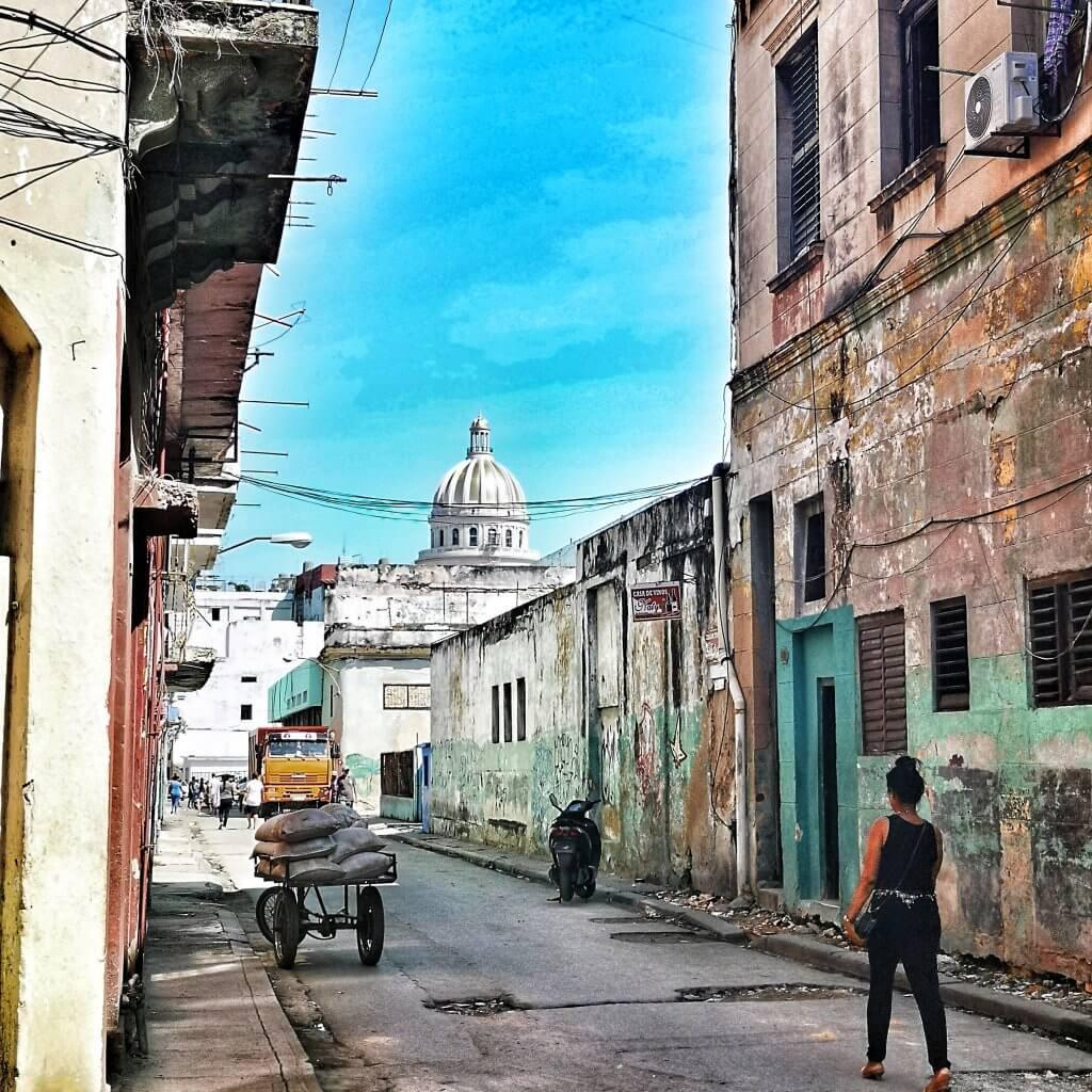 Havanna. Som å gå tilbake i tid.