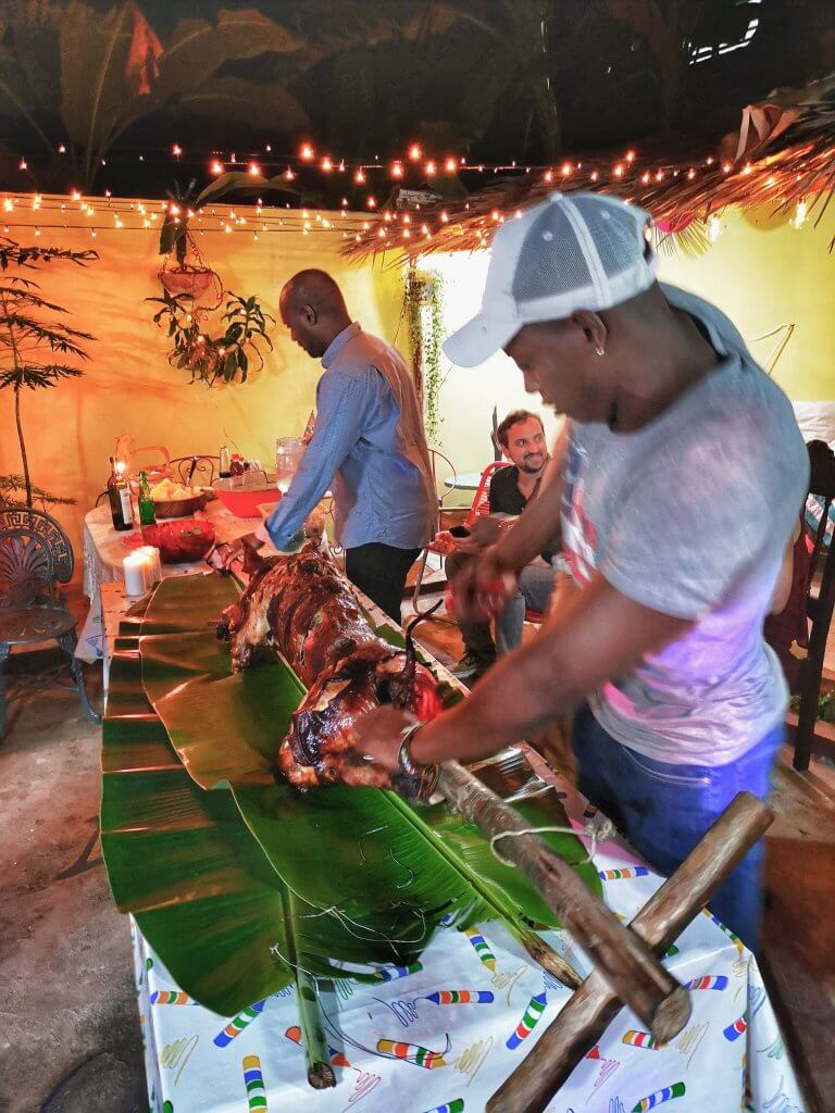 gris betyr fest på Cuba