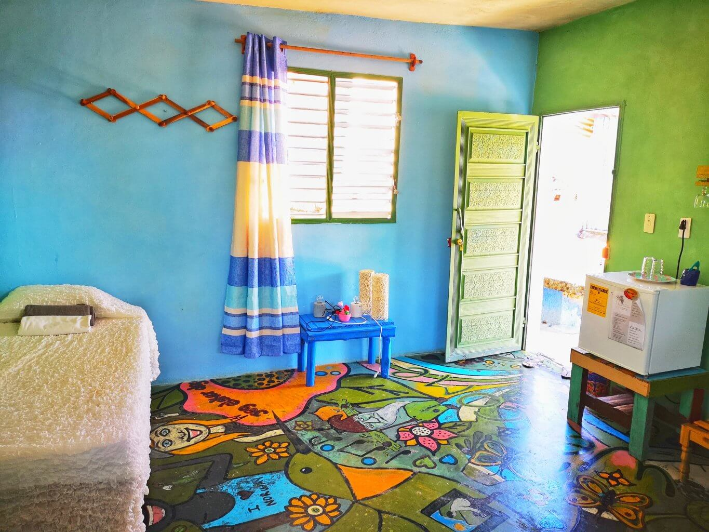 Det blå rommet i casa de Norge