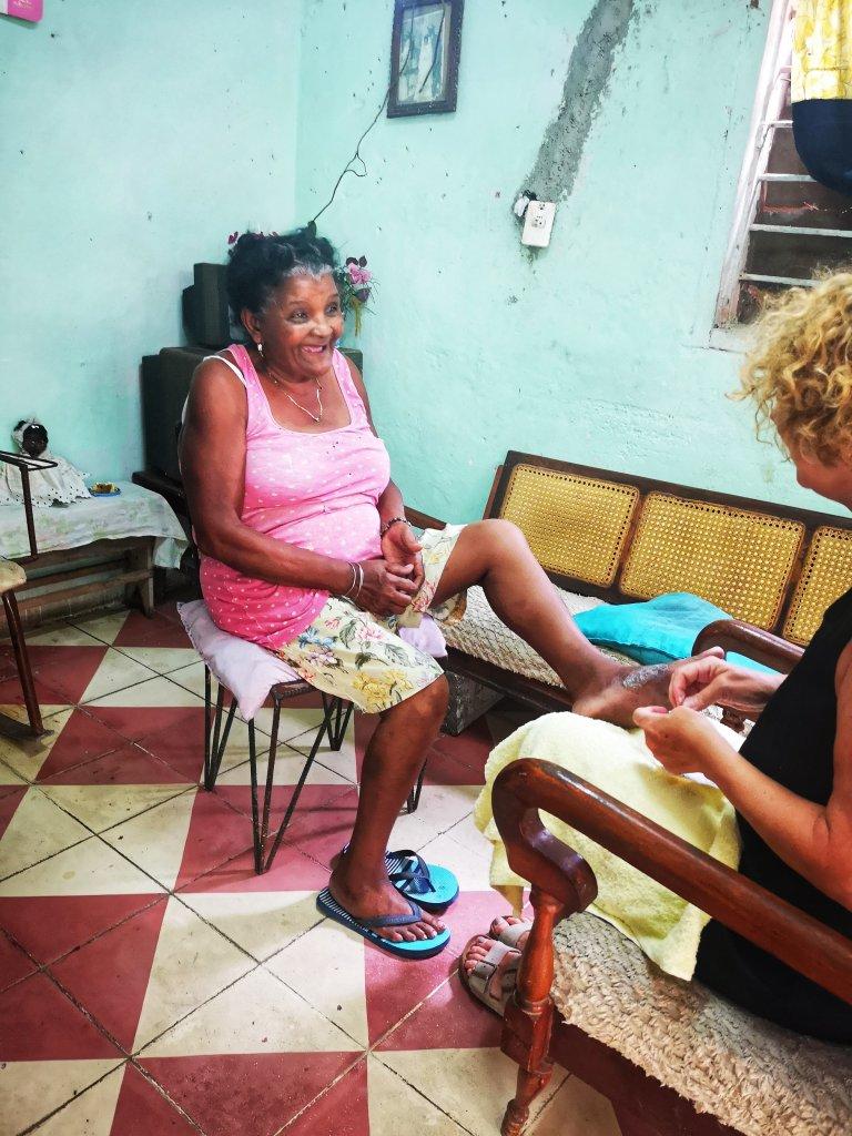 Hjelpeprosjekt på Cuba