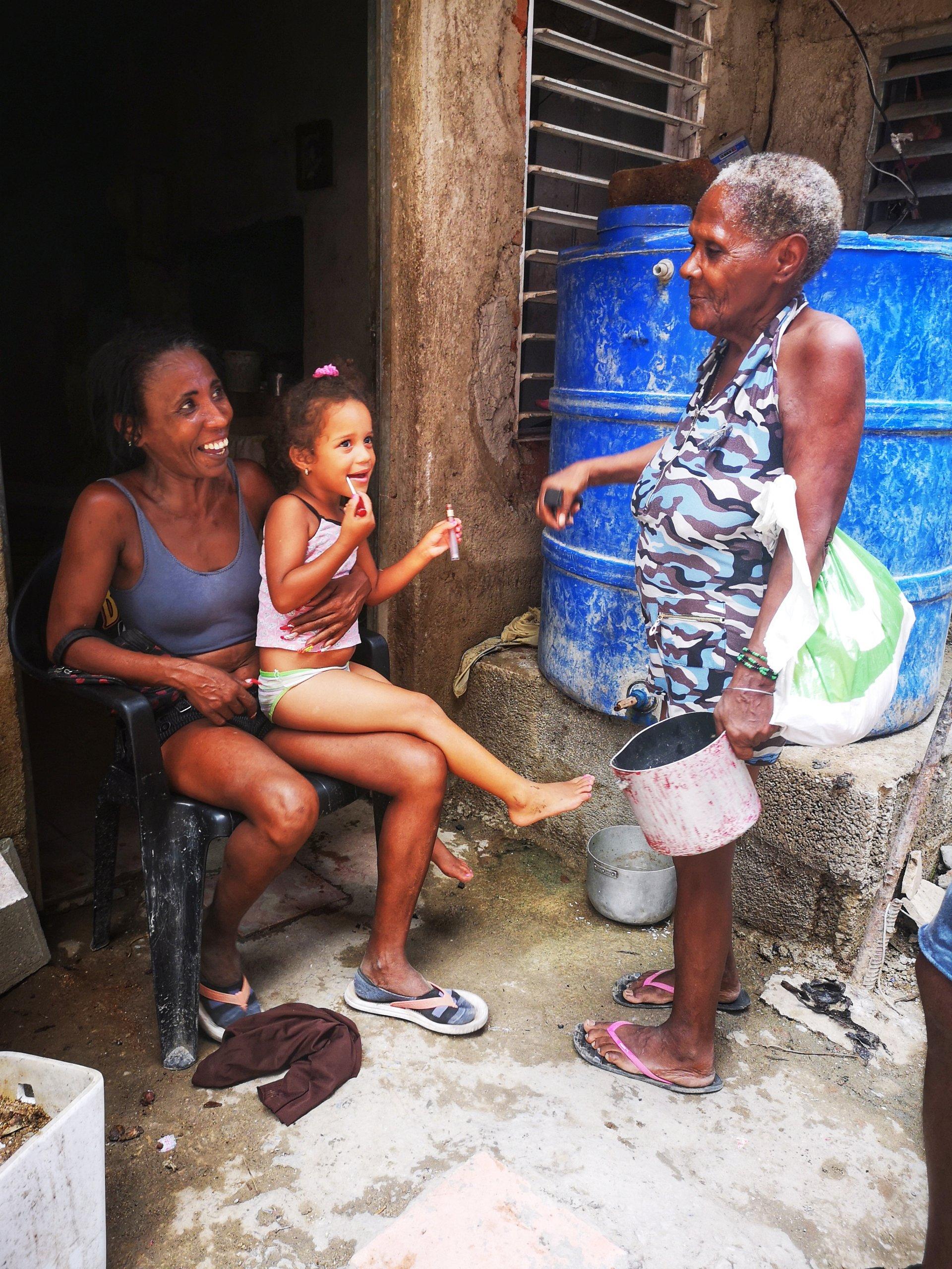 Hjelp det cubanske folk