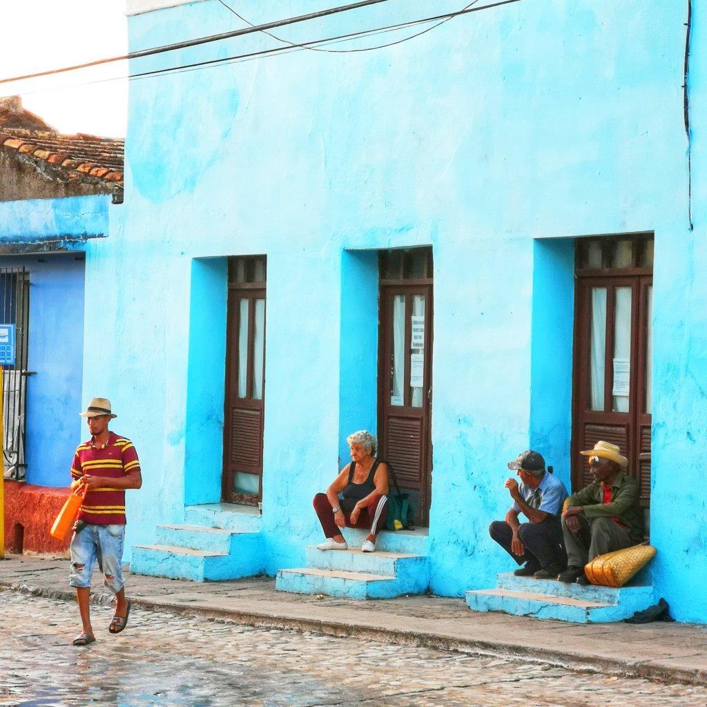 gatelangs på Cuba
