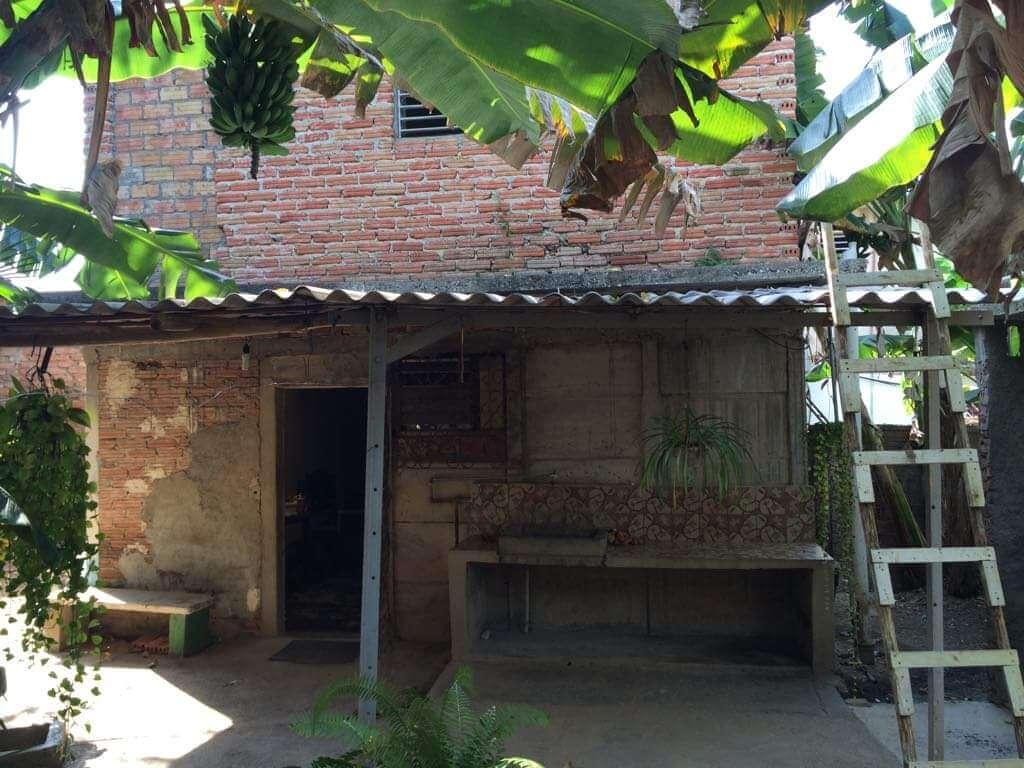 Tak-terrassen i vårt gjestehus på Cuba