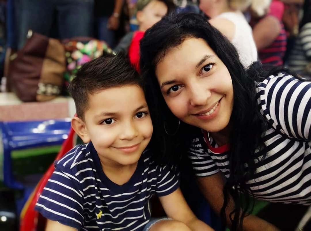cubaner med barn