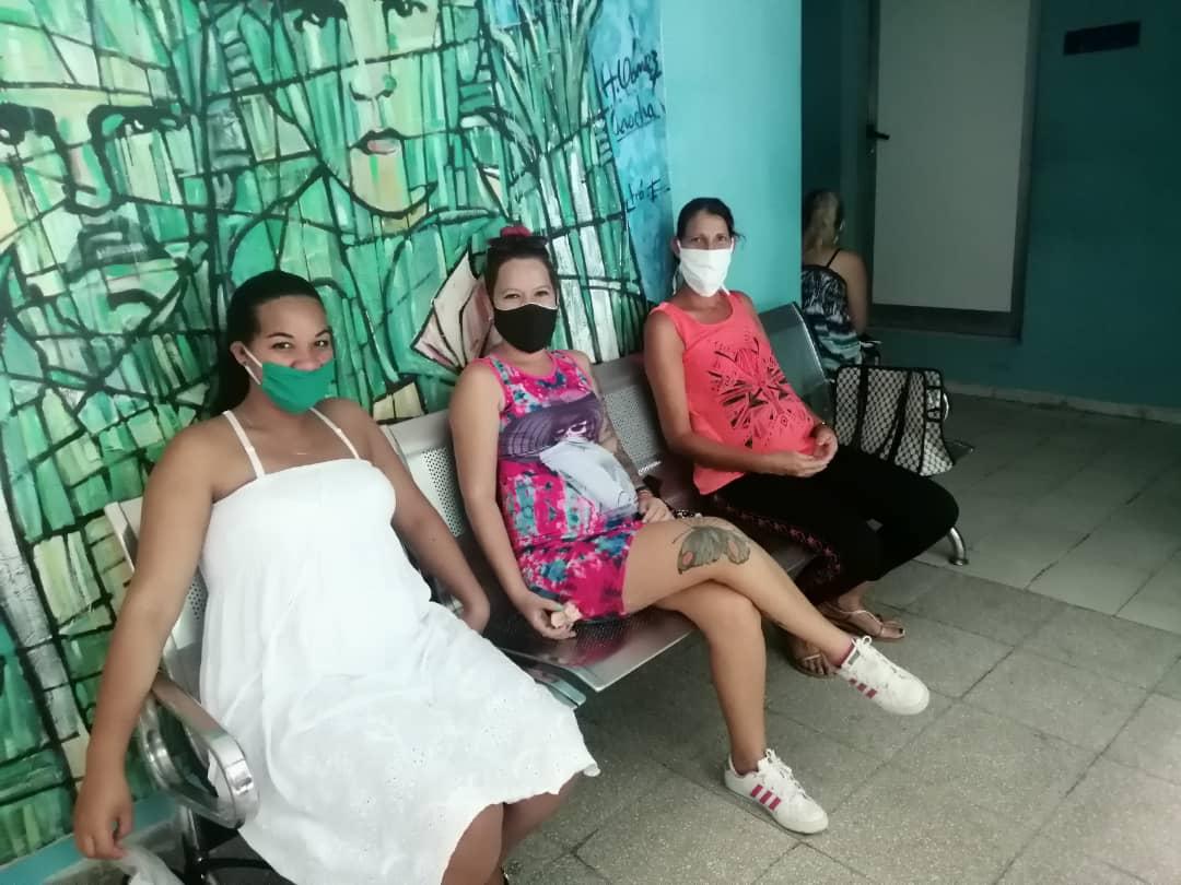 Gravid på Cuba
