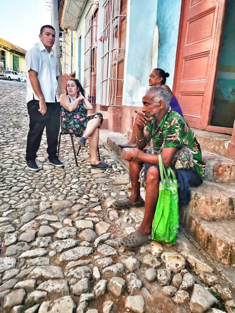 cubanere på gata